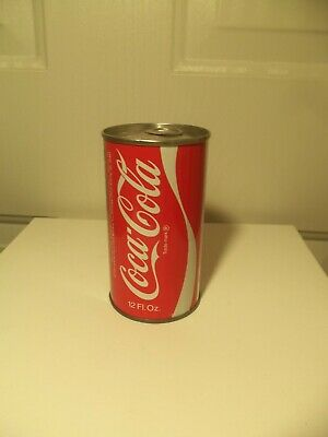 RARE 1972 SEALED EMPTY ERROR COCA-COLA COKE CAN from retired CC employee, nice