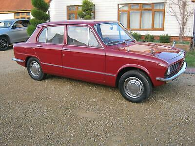 1976 Triumph Toledo 1.3 Rwd. 4 Door Saloon. Tax & Mot Exempt