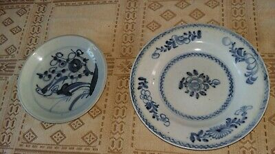 2 19Th Century Chinese Dishes.pottery
