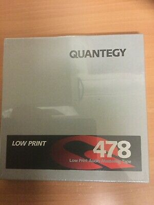 Factory Sealed Quantegy Low Print 478 Audio Mastering Tape