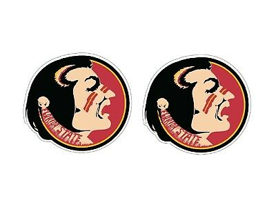1 Pair  Florida State University Full Color Corn Hole Board Window Decals