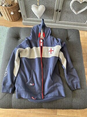 Blue England Hoodie From George At Asda, Age 12 - 13