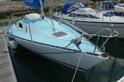 24ft yacht. Cruiser or racer. 1980 Eygthene 24. Good condition. Lots of extras