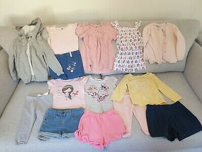 Girl's NEXT, Nutmeg, TU, H&M, Mothercare Summer Clothes Bundle Size 2 - 3 Years