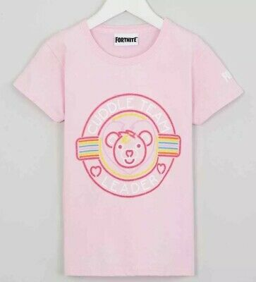 Fortnite T Shirt Pink Summer Hot Girls Meduim Epic Games Official New With Tags