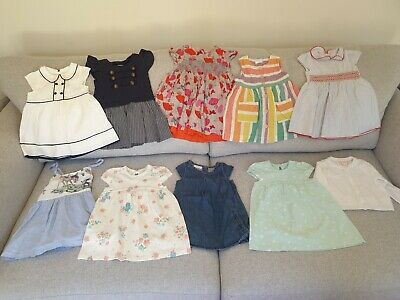 Baby Girl's NEXT, Matalan, M&S, George Summer Dress Clothes Bundle 6 - 9 Months