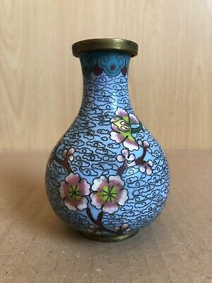 Fine Early 20th Century Chinese Cloisonne Vase