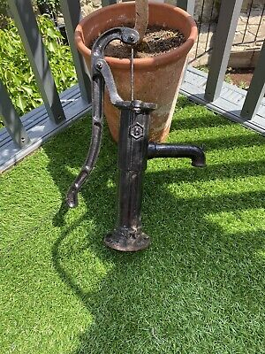 Original Vintage Cast Iron Water Pump