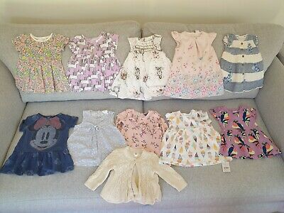 Baby Girl's NEXT, Mantaray, GAP, Nutmeg Summer Clothes Dress Bundle 3 - 6 Months