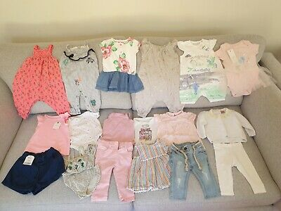 Baby Girl's NEXT, Joules, Little Bird, River Island Clothes Bundle 3 - 6 Months
