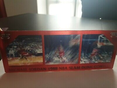 1998 Upper Deck 3D Motion 1988 slam dunk contest Michael Jordan RARE  /5000