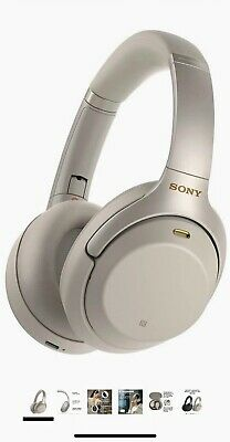 Sony - WH-1000XM3 Wireless Noise Cancelling Over-the-Ear Headphones with Goog...