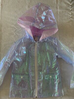 Girls River Island Lightweight Raincoat Size / Age 4 - 5 Years Old