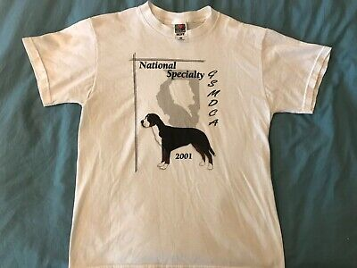 2001 Greater Swiss Mountain Dog National Specialty Show T-Shirt Medium