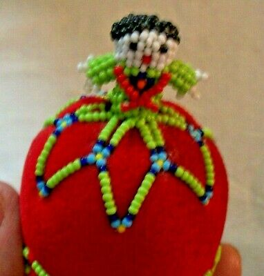 Pin Cushion -Sewing - Beaded Southwest