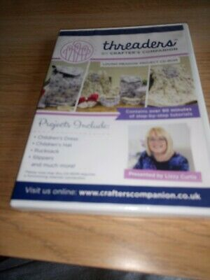 Threaders Creative Quilting Project CD-ROM Brand New /& Sealed RRP£14.99