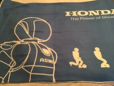 Honda Asimov Promotional Blanket ( New In Opened Bag) Found In Okinawa Japan
