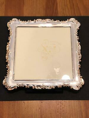 Superb Large Solid Silver Picture Frame Carrs of Sheffield 1997