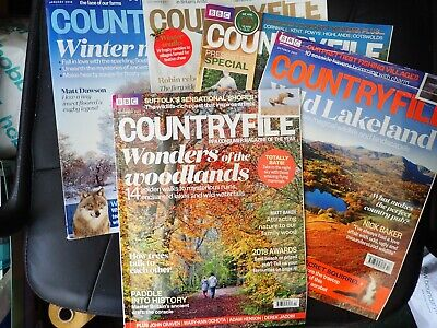 Countryfile magazines, 5 issues