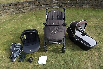 Silver Cross Pioneer Travel System Buggy/Cot/Car Seat