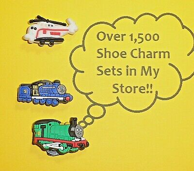 Train Shoe Charms Shoe Buttons Plugs Decoration Cake Toppers  auction