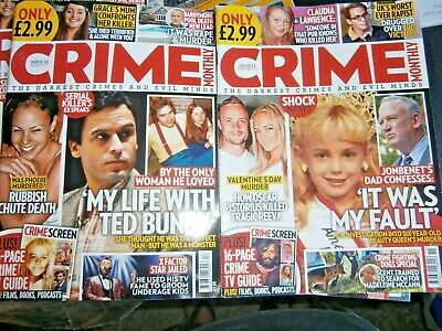 Crime Monthly Magazine Issue 11 & 12 (new) 2019