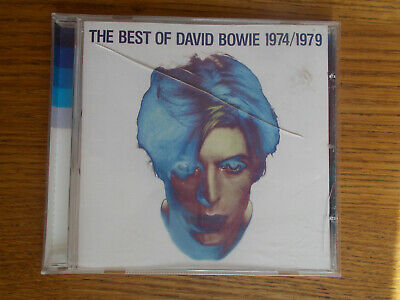 David Bowie The Best Of 1974/1979 Compilation CD in Mint Condition