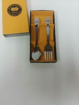 Happy Everyday Snile Spoon And Fork Set