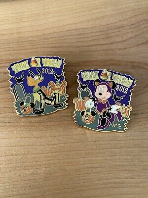 Disney Pin Lot - Trick Or Treat Pluto Minnie 2012 LE 2000