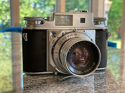 Voigtlander Prominent II with f2 Ultron - Excellent