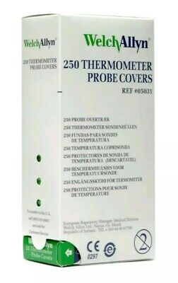 Welch Allyn Thermometer Probe Covers - Box of 250 - Reference: 05031