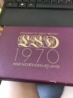 UK proof coin set 1970