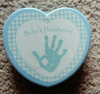 Babys First Handprint Kit Boy  NEW SEALED