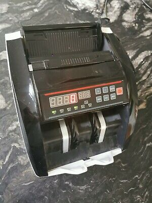 Bank Note Currency Counter Count Detector Money Fast Banknote Cash Machine