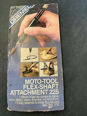 Dremel Moto-Tool Flex Shaft Attachment Model 225 In Box