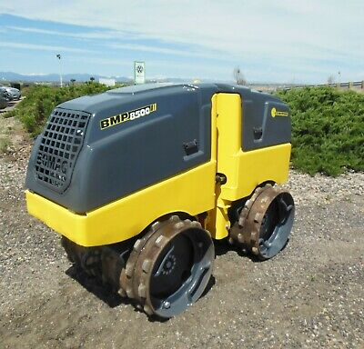 2014 Bomag BMP 8500 Walk Behind Vibratory Trench Drum Roller Compactor Wacker