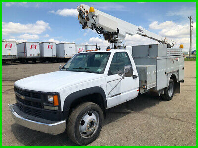 2002 Chevrolet Silverado 3500 Bucket Truck Used