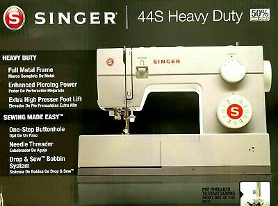 Singer 44S Heavy Duty Sewing Machine with 23 BuiltIn Stitches Fast Free Shipping