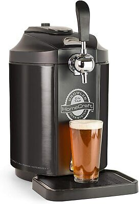 Homecraft Portable Keg Cooler Beer Growler System By Nostalgia Products