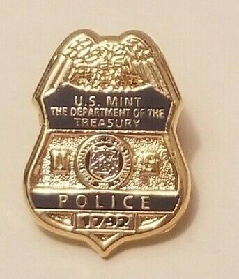 U.S. Mint Police Department (Treasury) Collector Pin   (A95)