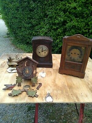 Antique clocks for restoration