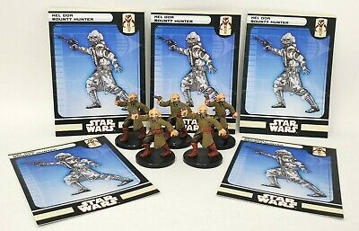 "Wizards of the Coast Star Wars Miniatures Huge Crab Droid With Card 5.5/"" RPG"
