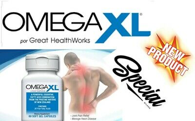 Omega XL 60CT by [ Natural Joint Pain Relief Anti-Inflammatory] ,Great Health