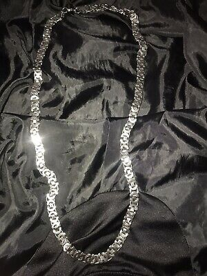Limited Edition Buckle Chain Silver