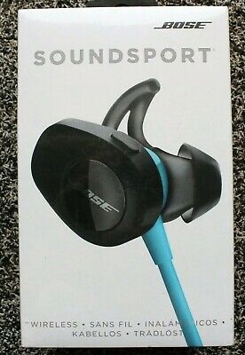 NEW Bose SoundSport Wireless Headphones AQUA. AUTHENTIC.Free Fast USA Shipping.
