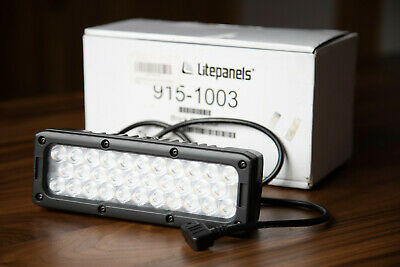 Litepanels Brick Bi-Color On-Camera LED Light - open box!