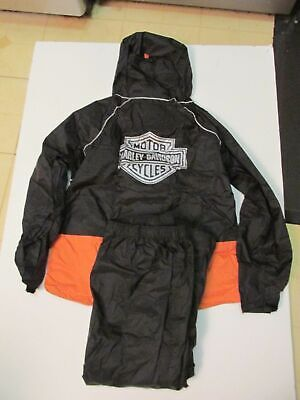 HARLEY DAVIDSON  Rain Suit  M ( Pack able )