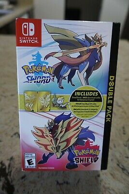 Pokemon Sword and Shield Double Pack Steelbook Edition, Target Exclusive, Sealed
