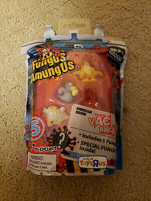 Fungus Amungus Toys R Us Funguy Vac Pack Exclusive 5 Funguys Batch #2