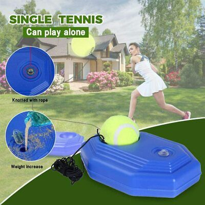 Solo Tennis Trainer Selfstudy Training Tool Exercise Baseboard Sparring